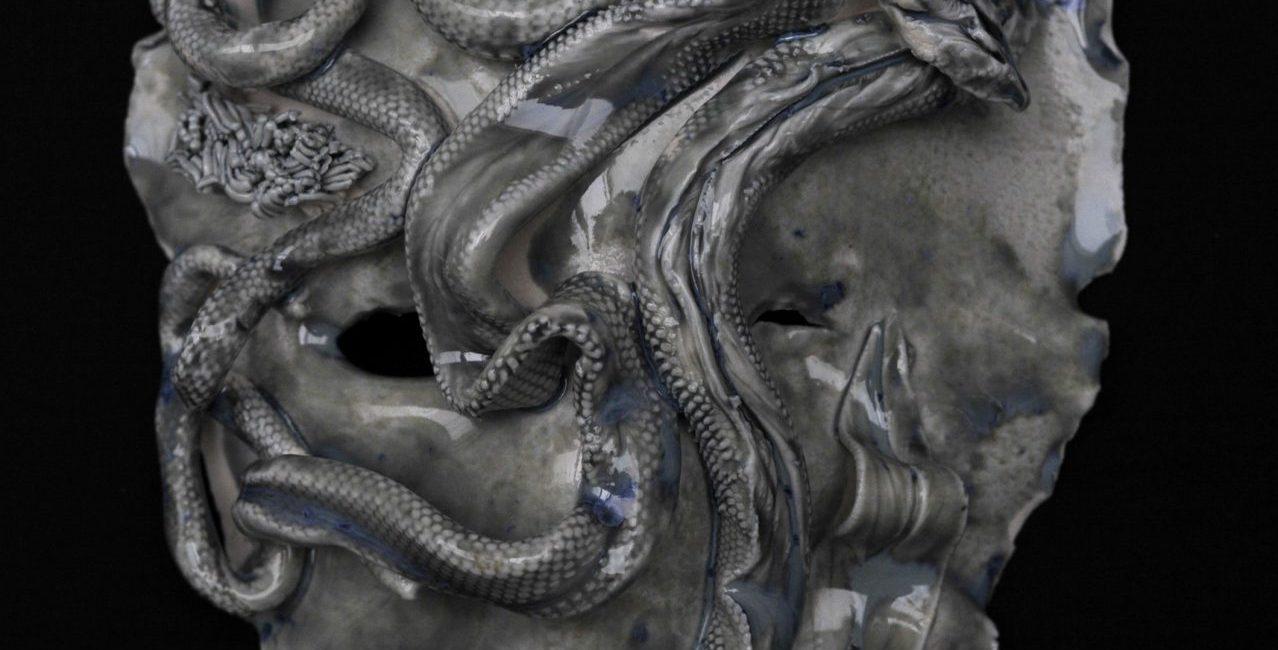Magda Krawcewicz Medusa 26x18x8